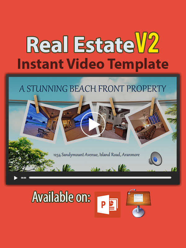 Real Estate Instant Video Templates V2