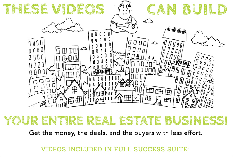 Real Estate Cartoon Videos