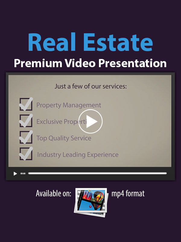 Real Estate Premium Video Presentation