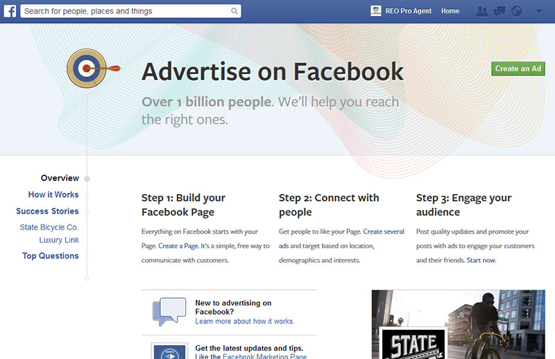 create your facebook video ads
