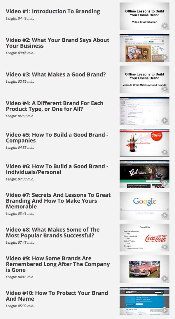 Brand Authority Videos