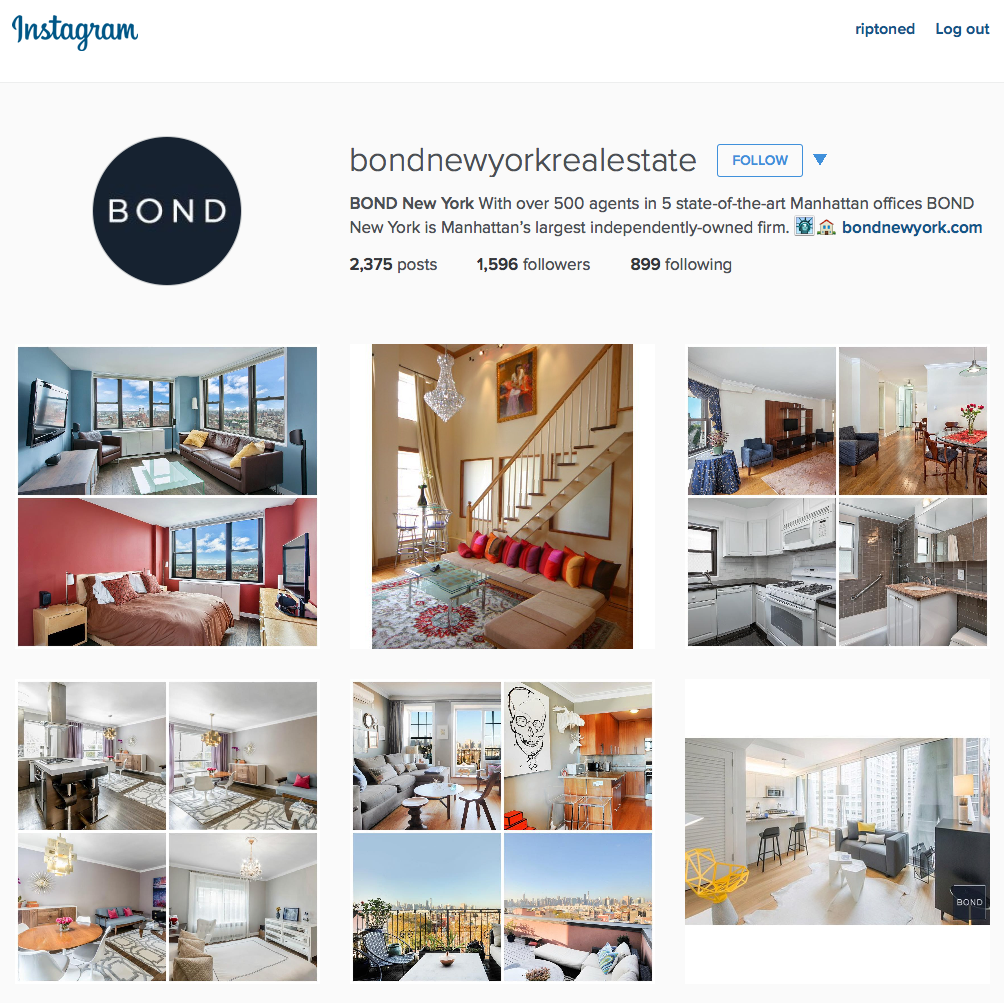 Instagram New York Real Estate