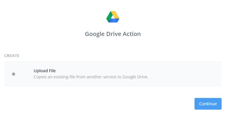 google-drive-action